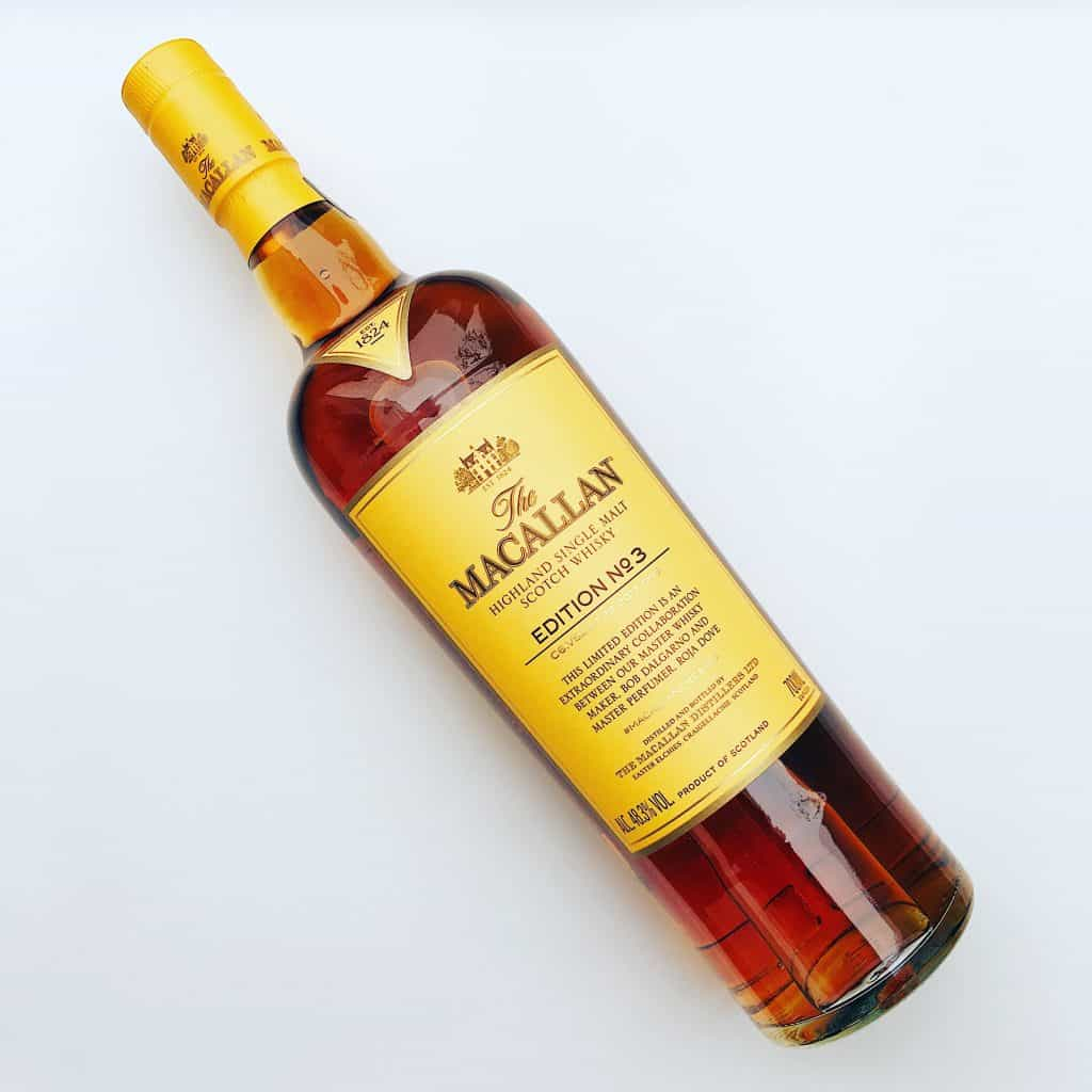 Macallan Edition 3 bottle
