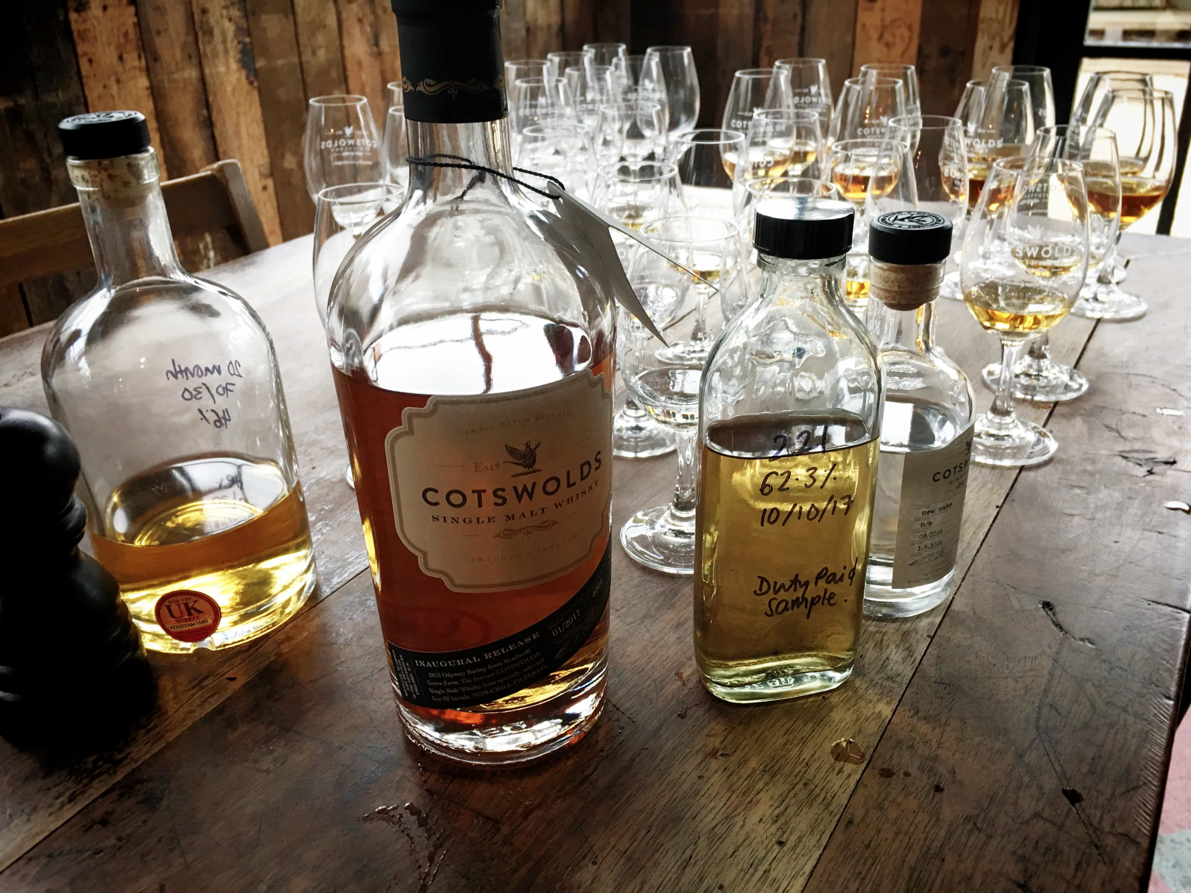 Cotswolds Distillery Tasting
