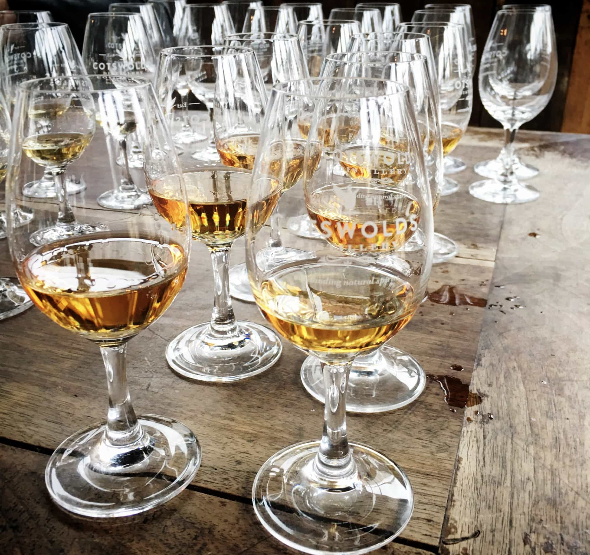 Cotswolds Distillery glasses