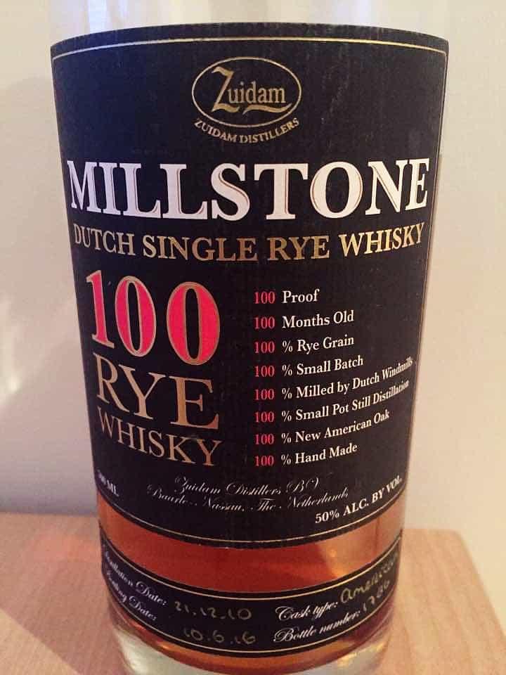 Millstone Rye Whisky
