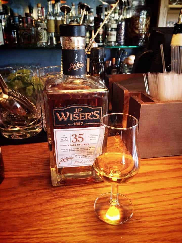 J.P. Wiser's 35 years old