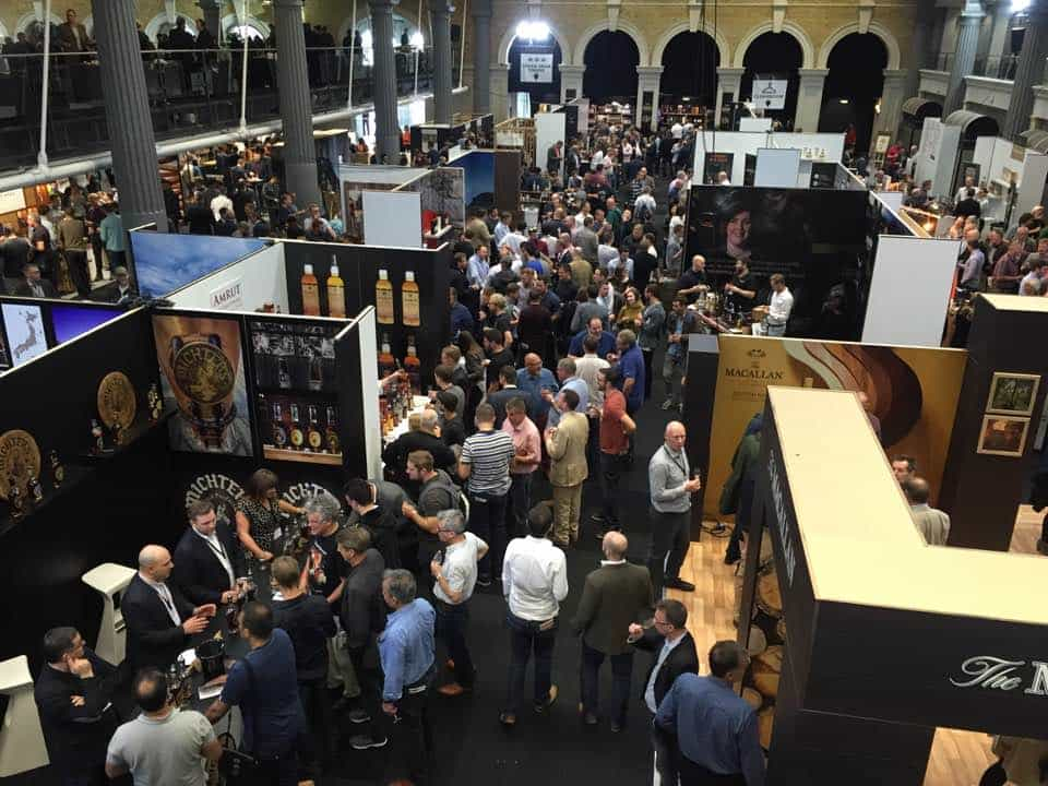 The Whisky Show crowd