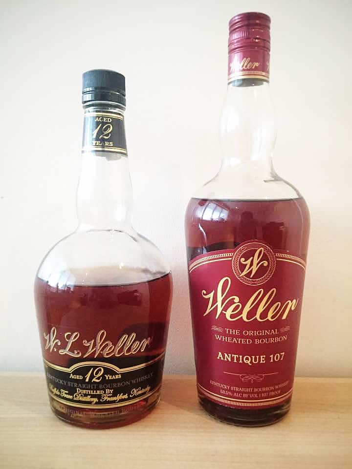 Bottles of Weller