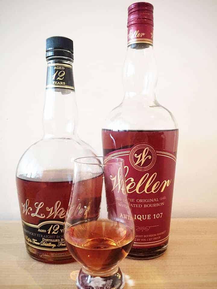 Bottles of Weller