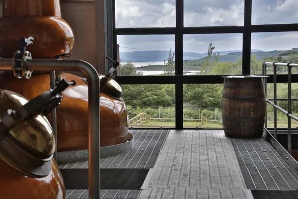 Ardnamurchan Distillery Interior
