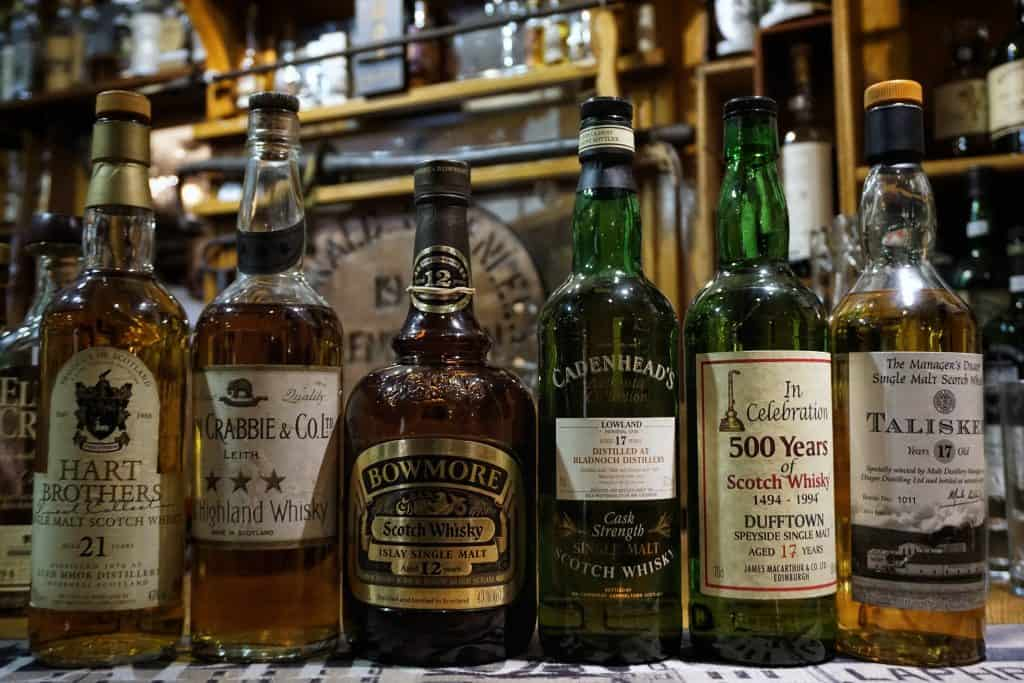 Old and rare bottles