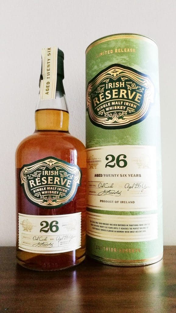 Aldi Irish Reserve Single Malt 26 Years Old