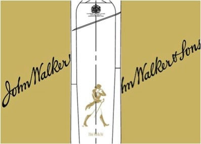 Johnnie Walker label