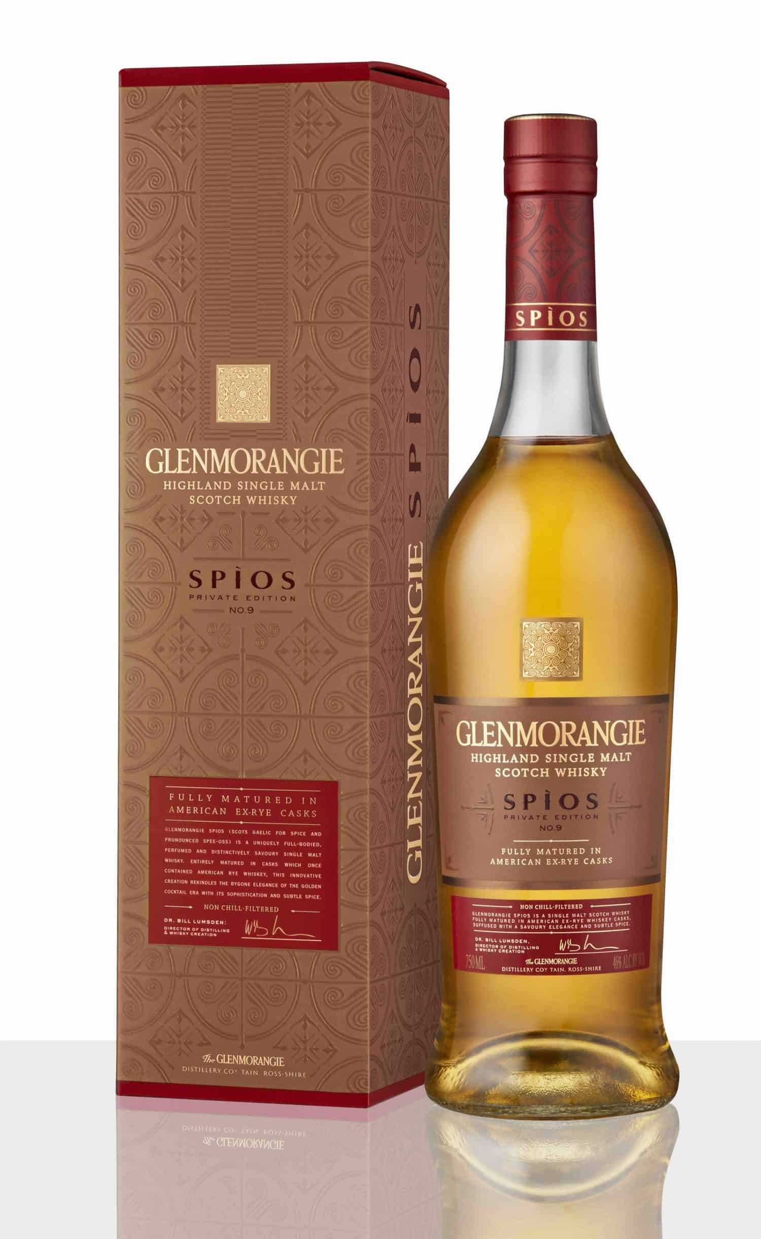Glenmorangie Private Edition 9 Spios_Bottle and Pack