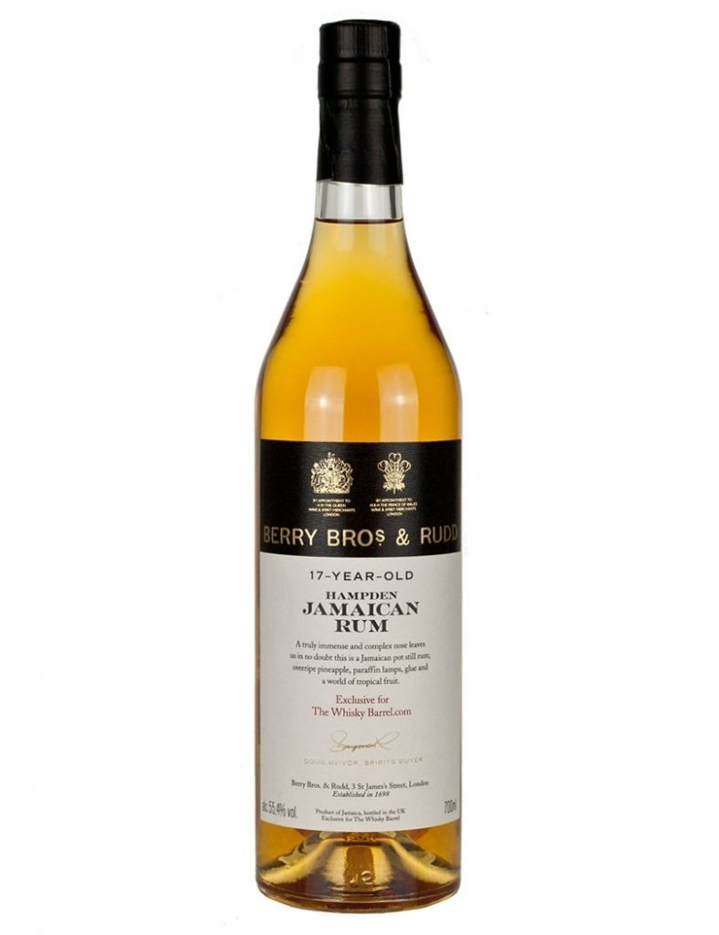 The Whisky Barrel 17 Year Old Hampden 2000 Berry Bros & Rudd