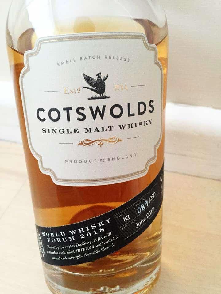 Cotswolds World Whisky Forum Bottling