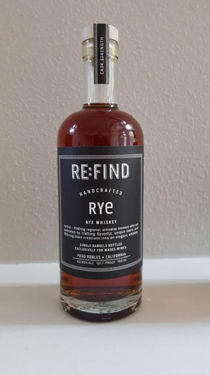 Re:Find Rye Single Barrel, Wades Wines Store Pick