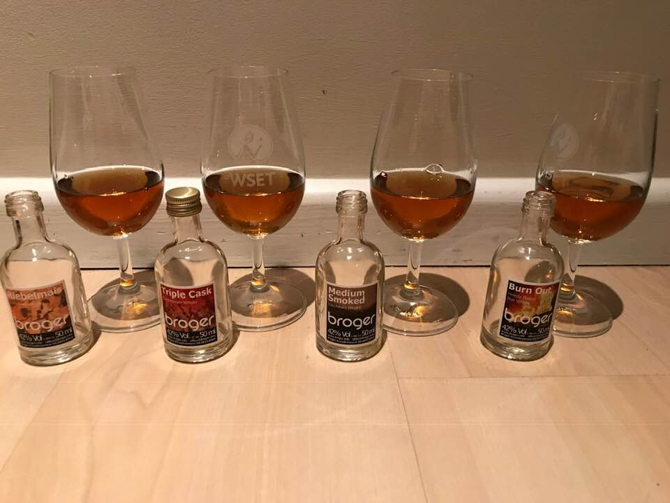 Broger whiskies