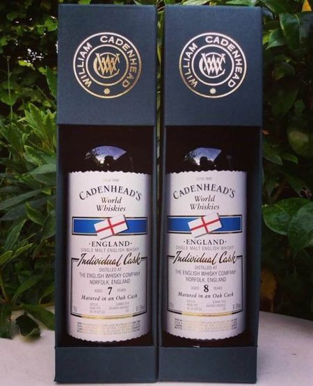 Cadenhead's English Whisky Company Duo