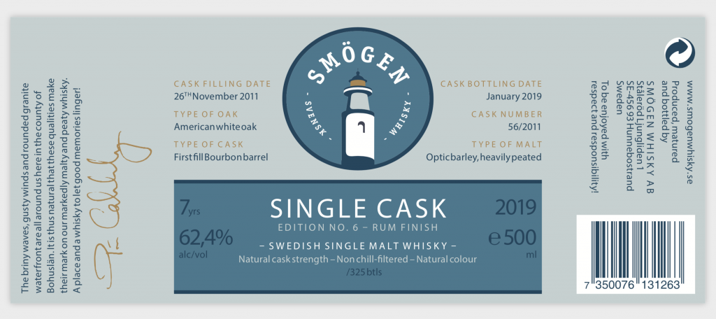 Smogen Rum Finish 2011