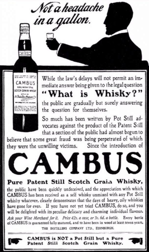 Cambus grain advert