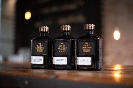 East London whiskies