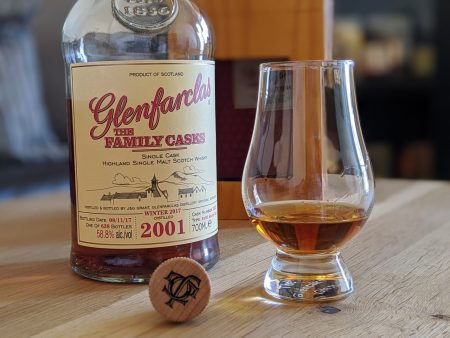 Glenfarclas Family Cask 16 years old 2001 - 2017 (Cask 3352)