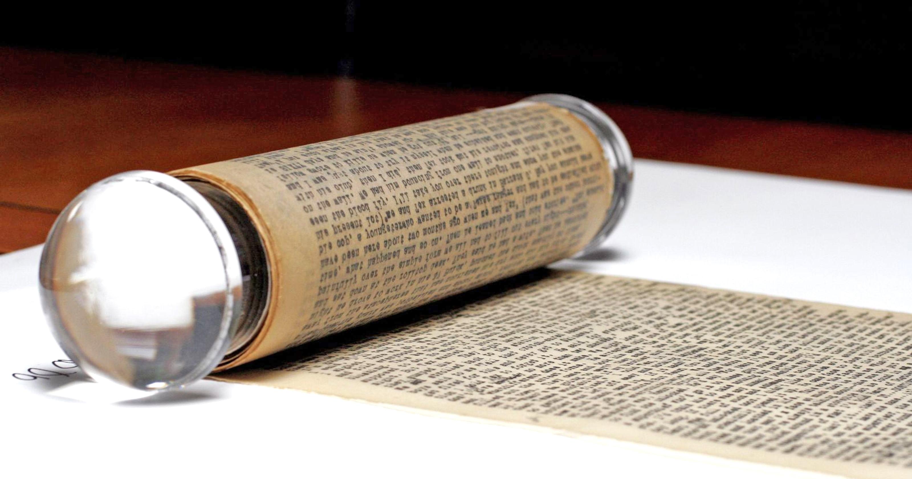 Kerouac manuscript